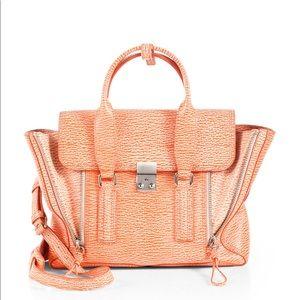 3.1 Phillip Lim Pashli Orange Leather Satchel